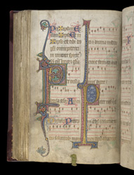 The Common Preface And Lord's Prayer, In A Durham Missal